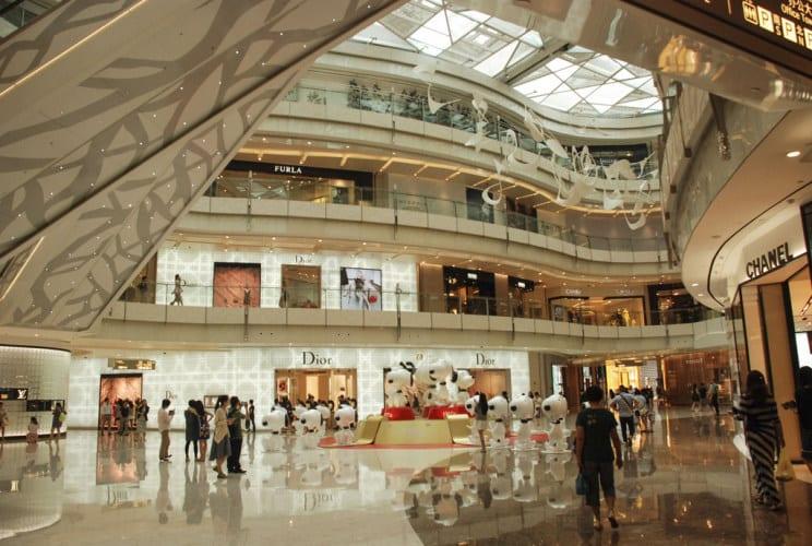 Die Shoppingmalls