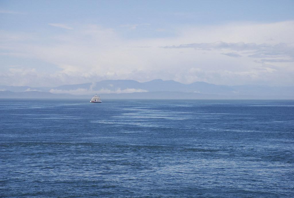 Fahrt zur Insel SaltSpring