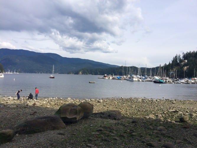 Der Yachthafen von Deep Cove