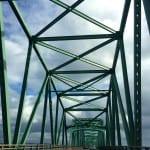 Brücke zum Staat Oregon