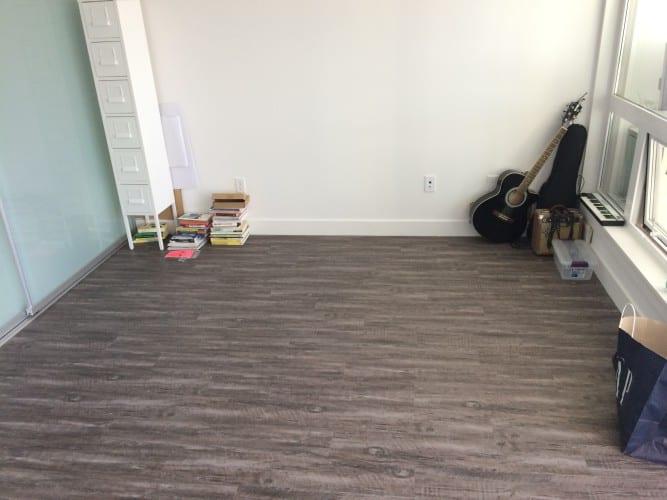 Mein Wohnzimmer - noch leer