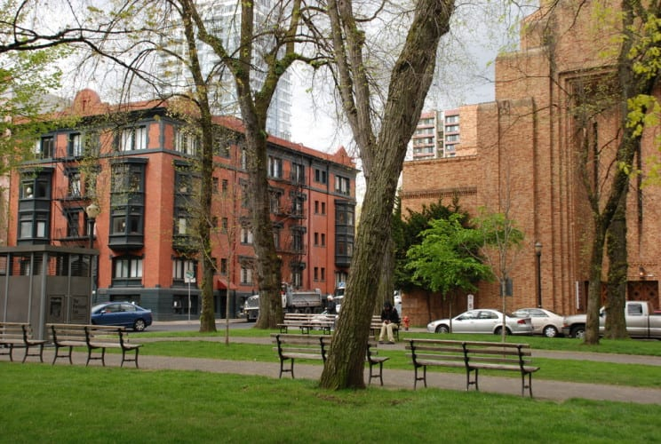 Parks in Portland Innenstadt
