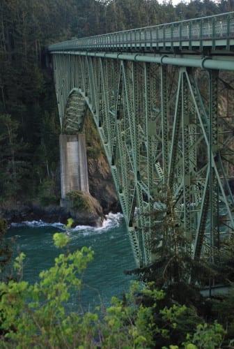 Brücke am Deception Pass