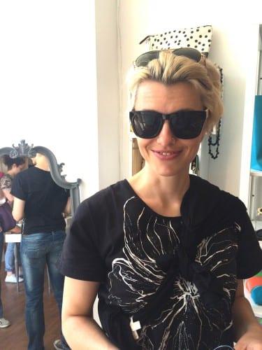 Frook mit neuer Sonnebrille