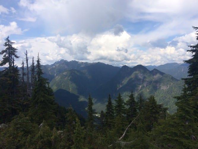 Ausblick von Mount Fromme