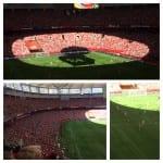 Stadium Atmosphäre