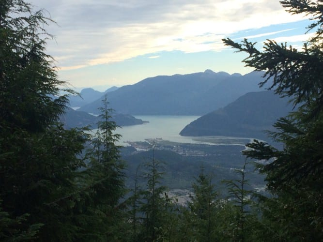 Auf dem Rückweg nach Squamish