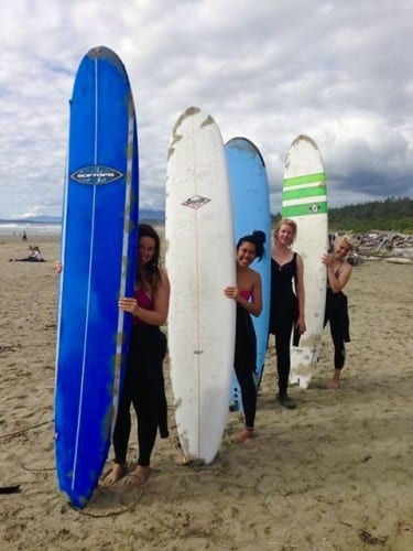 Die Surf-Ladies