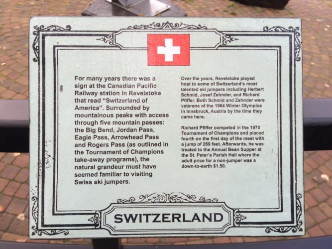 Switzerland in Canada