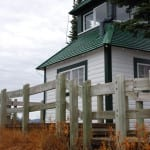 Feuerhaus auf Mt Revelstoke