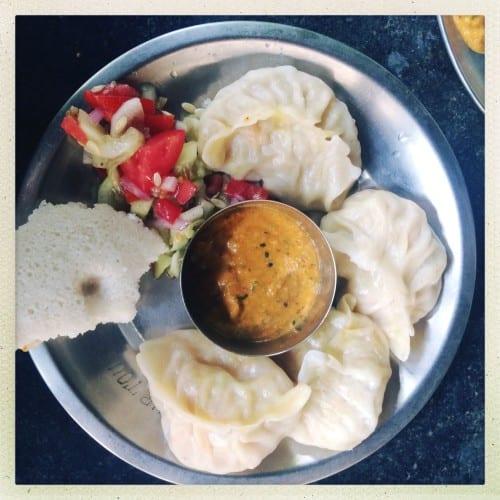 Indisches Mittagessen