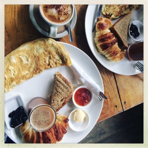 Frühstück deluxe!