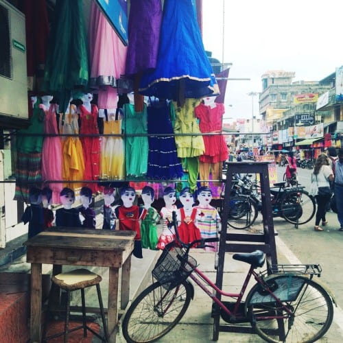 Markt in Pondicherry