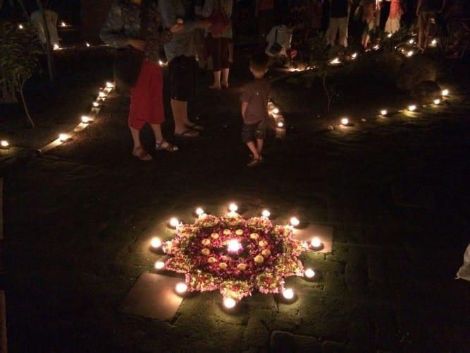 Dewali in Auroville