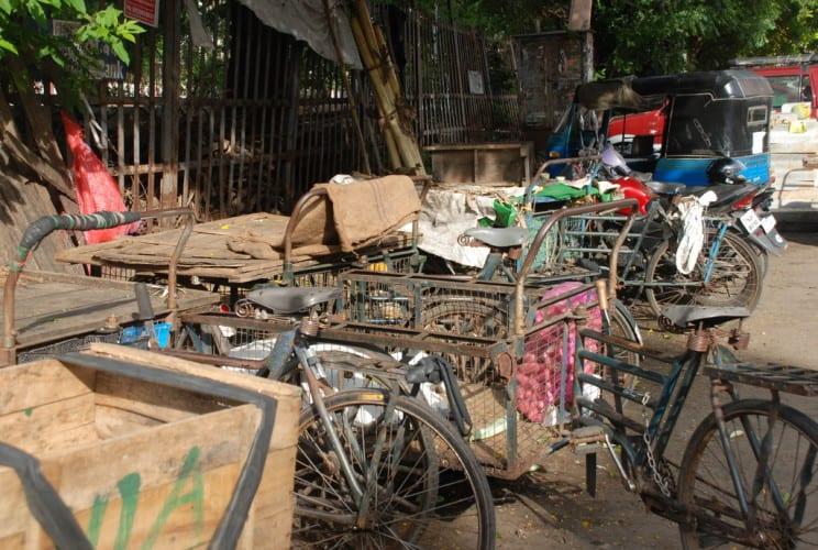 Transport Fahrräder
