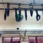 Ventilator im Zug