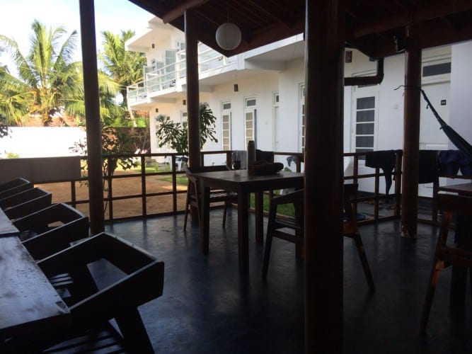 Unser Guesthouse in Weligama