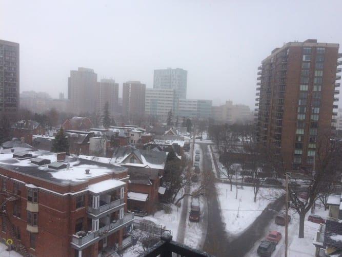 -30 Grad in Ottawa