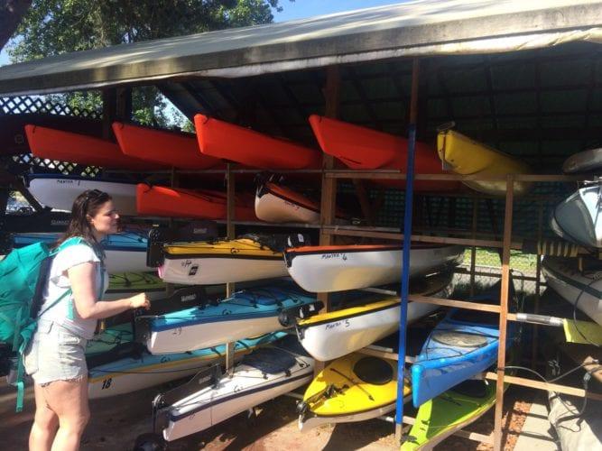 Pick a kayak