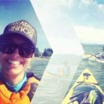 Kayaking mit Annalee