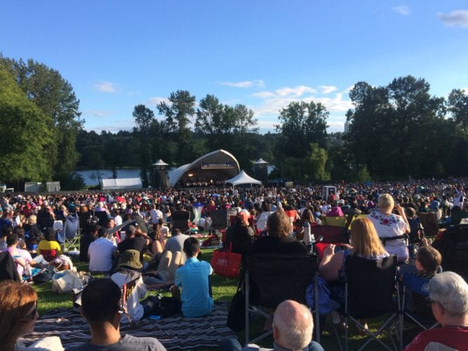 Free Symphony in the park