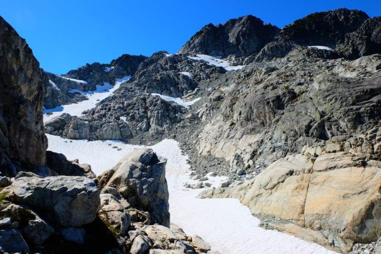Rauf auf den Gipfel