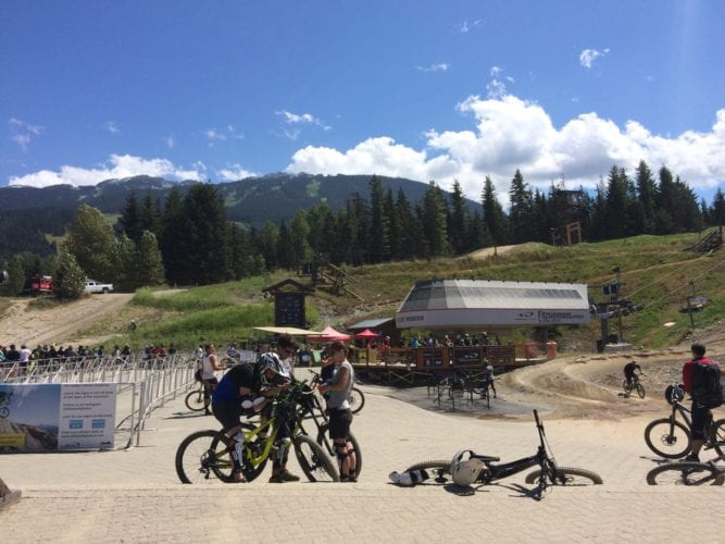 Bikepark in Whistler