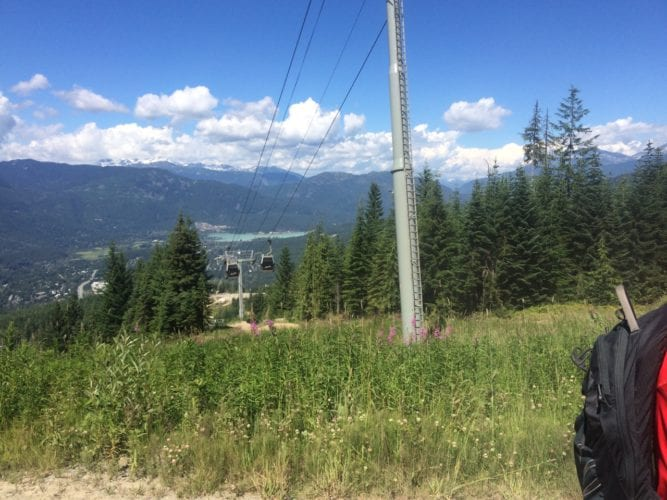Blick auf Whistler