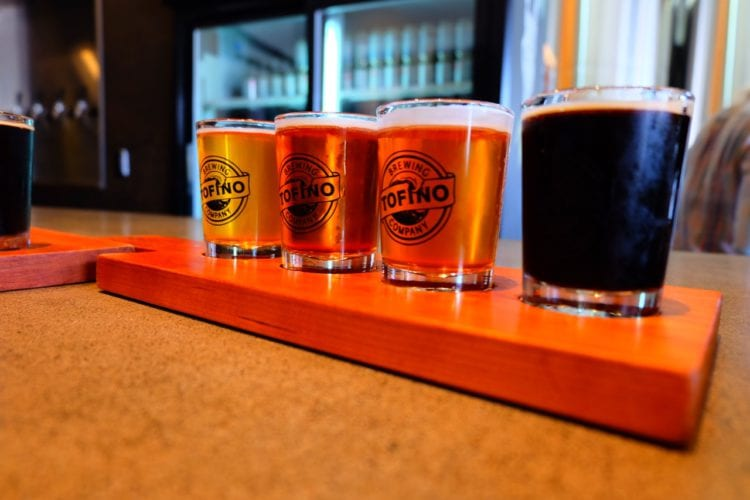 Brauerei in Tofino