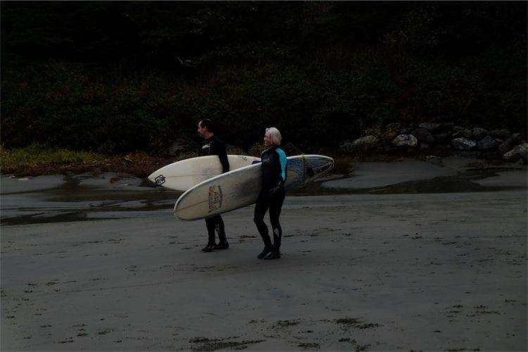 Auf zum surfen