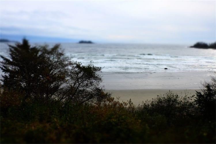 Strand von der Ferne