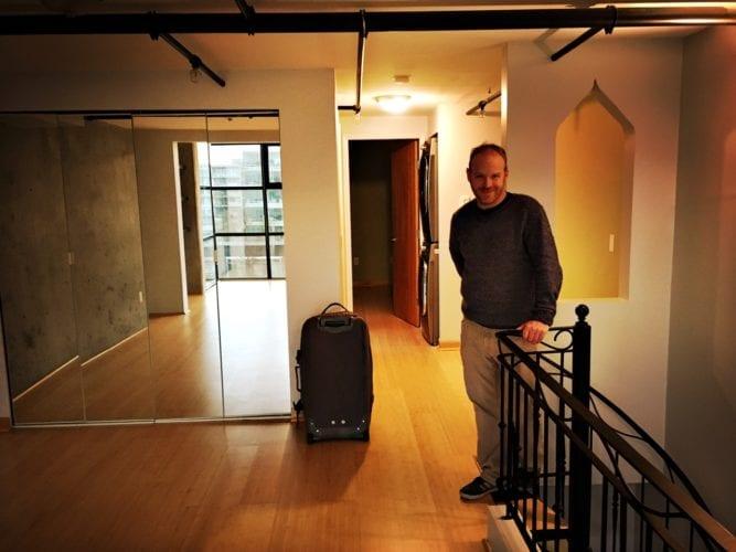 Neue Wohnung - Wohnbereich