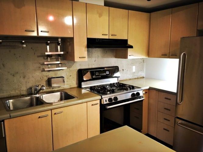 Neue Wohnung - Küche