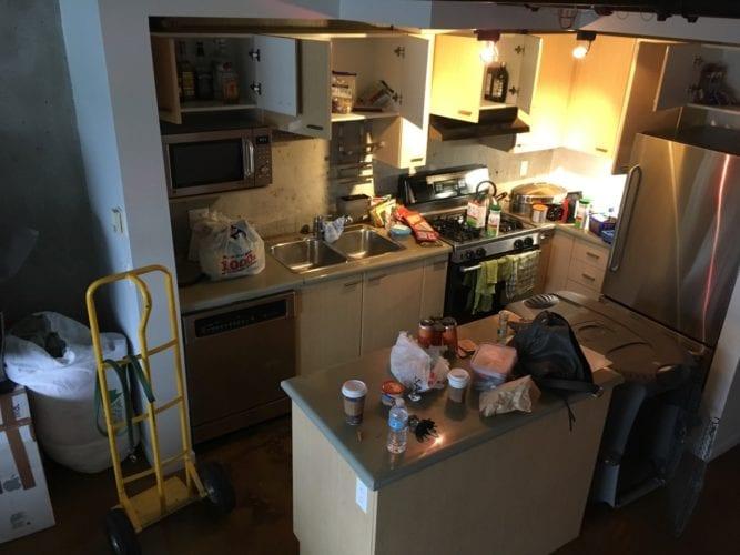 Küche organisieren - Horror