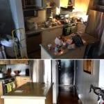 Vorher-Nachher Küche