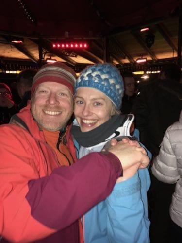 Spass beim Apres-Ski