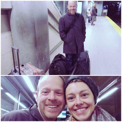 Abflug in Vancouver