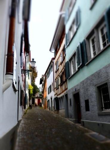 Zurich - enge Gasse