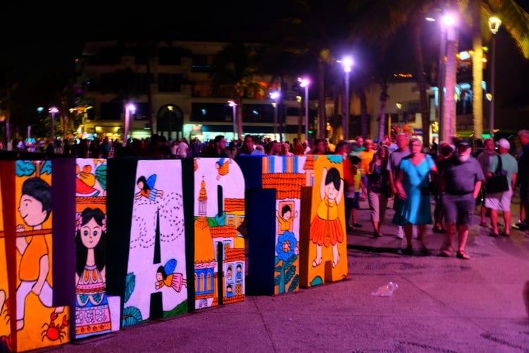 Puerto Vallarta - Hauptplatz