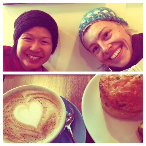 Frühstück mit Yvonne