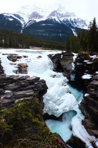 Athabasca Wasserfall
