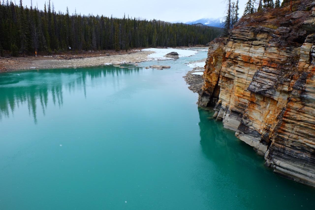 Kristallklarer Gletschersee
