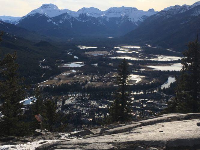 Banff von oben