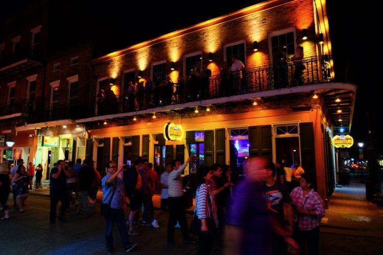 Bourbon Street - Feier Strasse