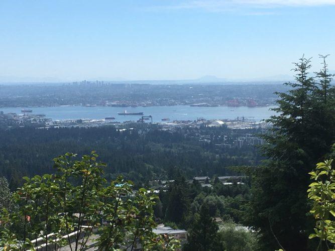 Blick auf Vancouver