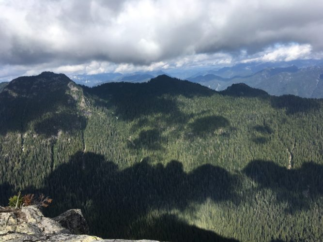 Blick von Mt Elsay