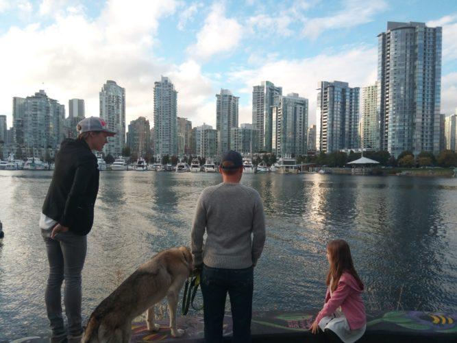 Ausblick auf Vancouver