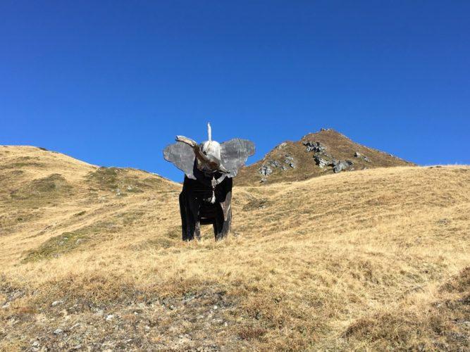 Kunst in den Bergen