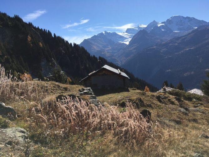 Berghüttenidyll