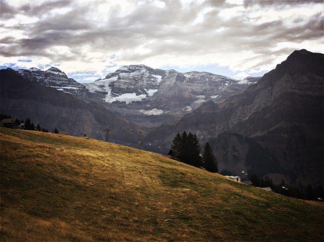 Gletscher voraus